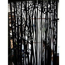 Rideau de porte, Forêt , 150 x 240 cm